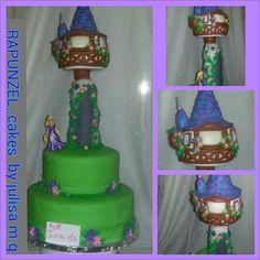 Rupunzel cake by.Julisa m.g