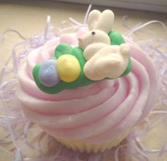 Easter Soap  Cottontail Cupcake Soap by ajsweetsoap on Etsy, $6.75