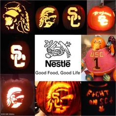 After a fun Halloween, check out these awesome carved pumpkins, each with a USC theme!