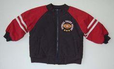 Gymboree Jacket 18 24 M Varsity Football NWT Navy Blue Red Lined Zipper Pockets #Gymboree #Jacket