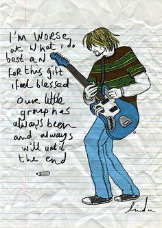 Smell Line Teen Spirit   Nirvana   Draw Designer   Kurt Cobain   Music   Grunge Universe