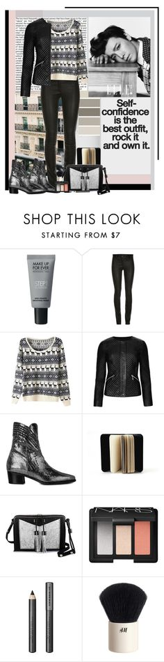 """The Modern Vice- Rock It"" by polybaby ❤ liked on Polyvore featuring MAKE UP FOR EVER, M&S Collection, Guerlain, Modern Vice, Carianne Moore, NARS Cosmetics, Burberry, H&M, modern and ModernViceContest"