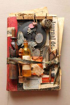 Cabinet de curiosités, J.Cavailles artiste créateur