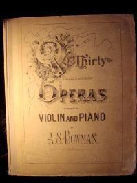 Victorian Opera Book, c.1903