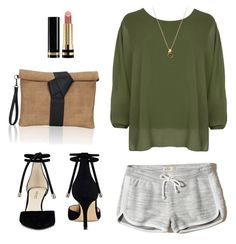 """""""Sporty Chic"""" by cari-bo on Polyvore featuring moda, Hollister Co., Nine West, WearAll y Gucci"""
