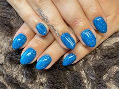 Blaue Glitzer Nägel Nails, Beauty, Nail Studio, Nice Asses, Finger Nails, Ongles, Beauty Illustration, Nail, Nail Manicure