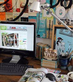 Desk by midcenturyjo, via Flickr