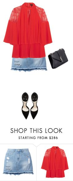"""""""Untitled #533"""" by isabellakongerskov ❤ liked on Polyvore featuring Steve J & Yoni P, Elie Saab and Yves Saint Laurent"""