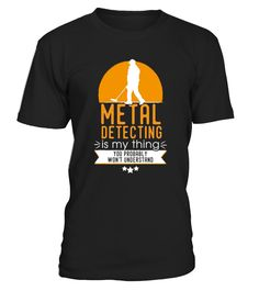 Metal detecting t shirt, ideal for those
