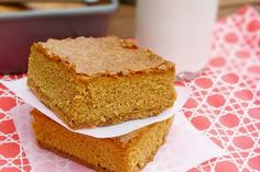 Now You're Cookin'biscoff cookie bars