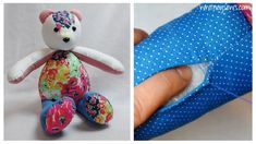 How to sew a ladder stitch to finish your memory bears!  Great step-by-step tutorial from Whitney Sews.