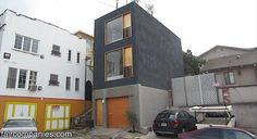 This skinny small house in LA is brought to you by Kirsten Dirksen of Faircompanies. This architect (Anonymous Architects) in LA wanted an affordable house so he found and purchased the smallest on...