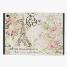 Awesome! This elegant chic Vintage Floral Paris EiffelTower iPad Mini Case is completely customizable and ready to be personalized or purchased as is. It's a perfect gift for you or your friends.