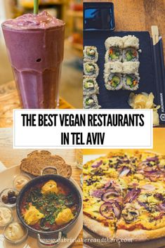 The best vegan restaurants in Tel Aviv, Israel. This is one of the hardest vegan restaurant posts I'm writing. Just because there were so many restaurants that I didn't have… Best Vegan Restaurants, Easy Recipes For Beginners, Israel Travel, Israel Trip, Vegan Lifestyle, Vegetarian Recipes, Blogging, Hotels, Vegans