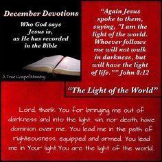 Jesus: The Light of the World #atruegospelministry