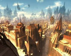 Fantasy - City Wallpapers and Backgrounds ID : 9617