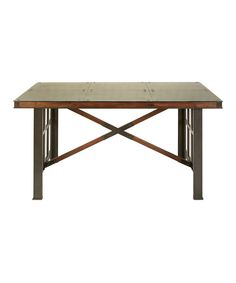 Take a look at this Wood & Metal Handyman Kitchen Table on zulily today!