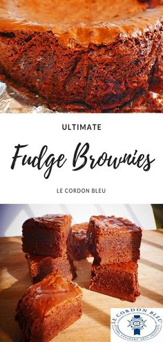 how to make ultimate fudge brownies Baking Recipes, Dessert Recipes, Flour Recipes, Desserts, Cordon Bleu Recipe, Le Cordon, Recipe Share, Fudge Brownies, Stick Of Butter