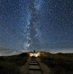 Heavenly Milky Way seen from German island of Sylt  Photo by Thomas Zimmer