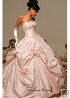 25. #Getting Married - 25 Pink Ball #Gowns for Your Next Gala ... #Skirt