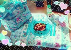Picnic at my workdesk