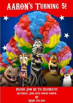 Other Entertainment Mem Madagascar 3d Lemurs Island Africa Animals Honest Movie Film Original Poster