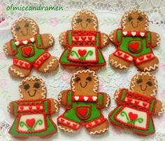 Teri Pringle Wood inspired gingerbread man/woman