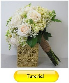 Learn how to make bridal bouquets, corsages, boutonnieres, table centerpieces and church decorations.  Buy wholesale flowers and discount florist supplies.