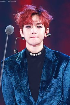 EXO @ Melon Music Awards // baekhyun // his tears at winning the award <3 <3