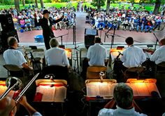 Minneapolis Park & Recreation Board - Outdoor Concerts - Lake Harriet Bandshell