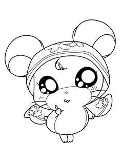 Hamtaro Okini Cute
