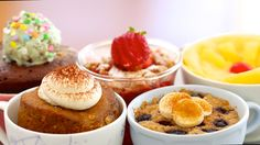 5 NEW 1 Minute Microwave Mug Cakes CELEBRATION! (includes Vegan, Egg-Free & Flourless Recipes) http://www.visiontimes.com/2015/05/23/you-need-to-try-these-yummy-1-minute-coffee-cup-cakes.html