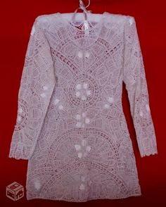 Vestidos em renda renascença - MAngelrendas