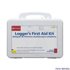Logger's First Aid Kit - 16 Unit Plastic Case