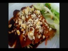 Authentic Mexican Red Enchiladas
