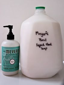 Simple Savvy Saving: Mrs. Meyers Homemade Liquid Hand Soap Total Cost $4.99 for 1 Gallon!!!