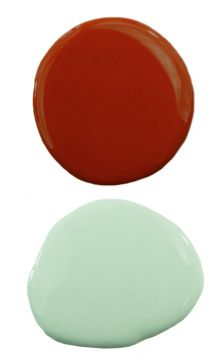 Color Combo: Mint Green & Apple Spice Red