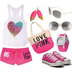 """""""pink"""" by angel-silver on Polyvore"""