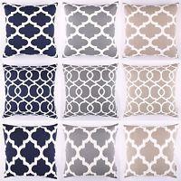 Moroccan Lattice Ikat Cushion Cover Pillow Case By DecorUnited Cushion Pads, Cushion Covers, Pillow Covers, Cushions, Pillows, Ikat, Moroccan, Outdoor Living, Nautical