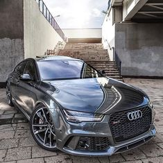 Mean ass Audi 😎 650 Horsepower and 600 lb-ft of torque by And Exotics Audi Rs7 Sportback, Audi Rs6, Bugatti, Lamborghini, Ferrari, Maserati, R34 Gtr, Audi Sport, Range Rover