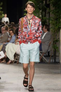 See the Hermes spring/summer 2016 menswear collection. Click through for full gallery