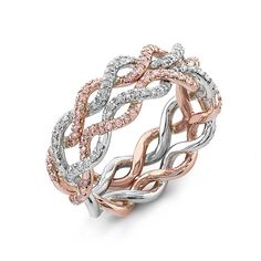 """14 Pretty-in-Pink Wedding Bands to Make You Say """"I Do, I Do, I Do!"""""""