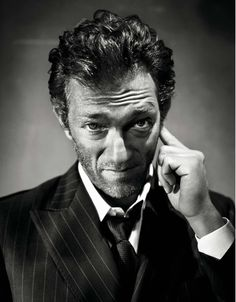 Is it weird that I have a crush on Vincent Cassel? I thought he was really hot in Black Swan....