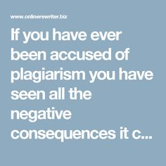 If you have ever been accused of plagiarism you have seen all the negative consequences it can bring to you. Rewriting manually will not always be successful if you are not experienced with it. If you want your rewriting done properly, your best option is to use this text rewriter online http://www.onlinerewriter.biz/our-services/text-rewriter/