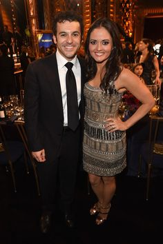 Actors Fred Savage (L) and Danica McKellar attend the 2015 TV Land Awards at Saban Theatre on April 11, 2015 in Beverly Hills, California.