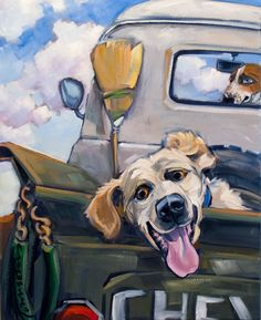 """Connie Townsend. """"Tailgating"""""""