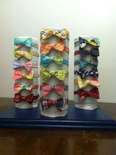 Many Bow Ties on Display by Phi Ties