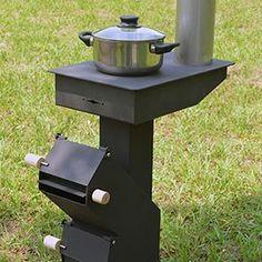 可調式汽門火箭爐(小) — 多功能火箭爐