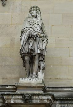 These HD photographs show Le Notre statue by sculptor Jean Auguste Barre that is located on the Rotonde d'Apollon section of the Musee du Louvre in Paris. Statues, Louvre Museum, French Sculptor, Paris Images, Auguste, Barre, Image Shows, 17th Century, Decoration