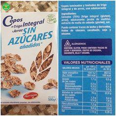 💁🏼COPOS DE TRIGO INTEGRAL Y ARROZ SIN AZÚCARES AÑADIDOS HACENDADO. . 📝Supermercado: @mercadona. 💵P.V.P: 1,70 euros. . 📸 @anisllera. . #lacestadefranitamercadona #healthyfranita #followme #follow #like4like #basicos #supermercado #coposdetrigointegral